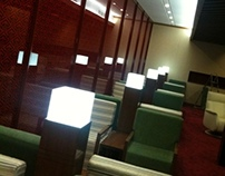 Majan Lounge In Muscat International Airport