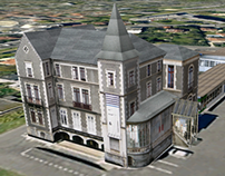 ESA des Pyrénées 3D