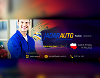 Banner on website jadar-auto.pl
