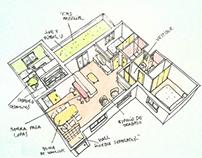 Reforma y amueblamiento de apartamentos. Madrid