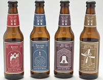 Castle Keep Brewery Beer Labels