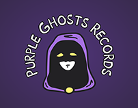 Purple Ghosts Records Logo