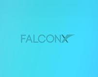 FALCONX logo