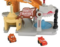 Pixar Cars: Radiator Springs Playset