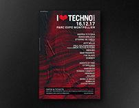 I LOVE TECHNO - Identity 2017