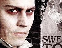 Sweeney Todd One Sheet