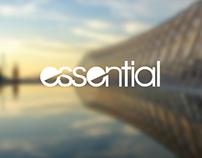 ESSENTIAL ENTERTAINMENT LOGO DESIGN