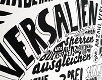 Typographic Poster - Jan Tschichold