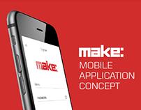 Make - Mobile App Design