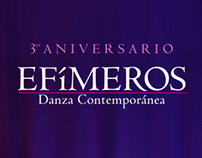 3er Aniversario EFIMEROS DANZA CONTEMPORÁNEA