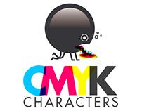 CMYK characters