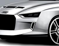 Audi Quattro special version