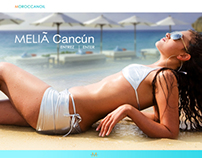 Moroccanoil / Meliá Cancún - Holiday Landing Page