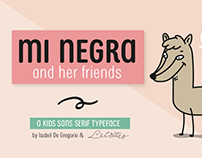 Mi Negra Font