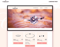 Jewelry landing page