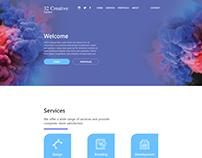 32 Creative Agency Webpage