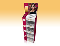 Cosmetic POS Display Stand