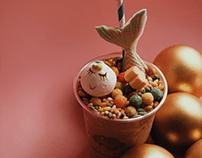 Magical Mericorn Milkshake - Food Photography