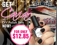 CAVIAR NAILS AD (edm,web banner,fb cover)