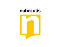 Nubeculis logo & branding