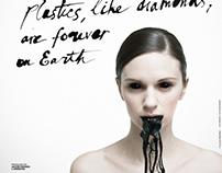 Promo poster. Use less plastic