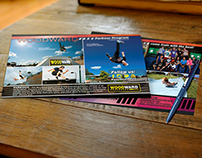 Woodward Camp - Postcard, ads and marketing