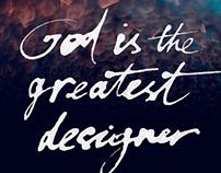 Poster. GOD