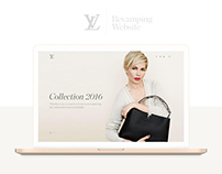 Louis Vuitton  I Revamping Website