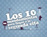 Doritos - 10 mandamientos para llegar a la segunda cita
