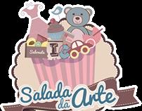 """Logo """"Salada Da Arte"""""""