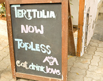 Terttulia | Menu card