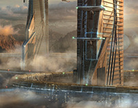 Journey - Matte Painting