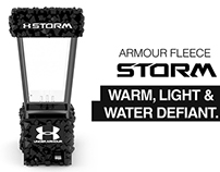 Under Armour Storm Cotton Display