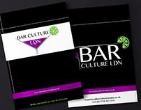 Bar Culture Ldn - Identity & Branding
