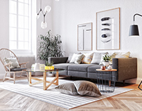 Scandinavi living room