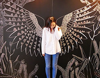 Kea wings Mural