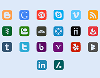 Free Social Font Icons