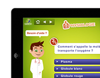 Ipad Quizz Game Interface