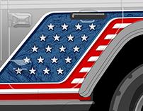 Jeep Wrap - 'Murica