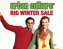 Urban Culture 'Big Winter Sale' '13 Campaign