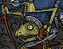 Amphisbène Cards: Titan Set