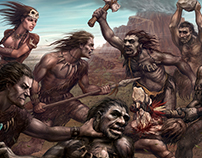 Mesolithic battle