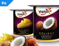 Yoplait Delight / Packaging