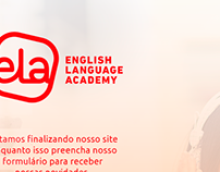 Página de aguarde - Ela | English Language Academy