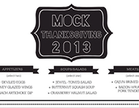 Mock Thanksgiving