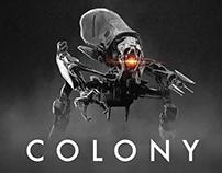 COLONY - 3D Creature Design