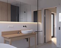 "MINIMALIST BATHROOM ""EK"" Modern Apartment 