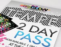 Dayglow Event Flyer