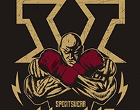 Illustration for sportswear brand