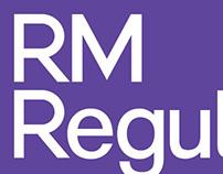 RM Regular Typeface (Mash Creative)